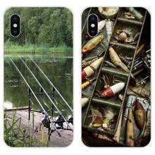 Southern Blue Fish Fishing Lake Tackle Box For Xiaomi Redmi Mi 4 7A 9T K20 CC9 CC9e Note 7 9 Y3 SE Pro Prime Go Play