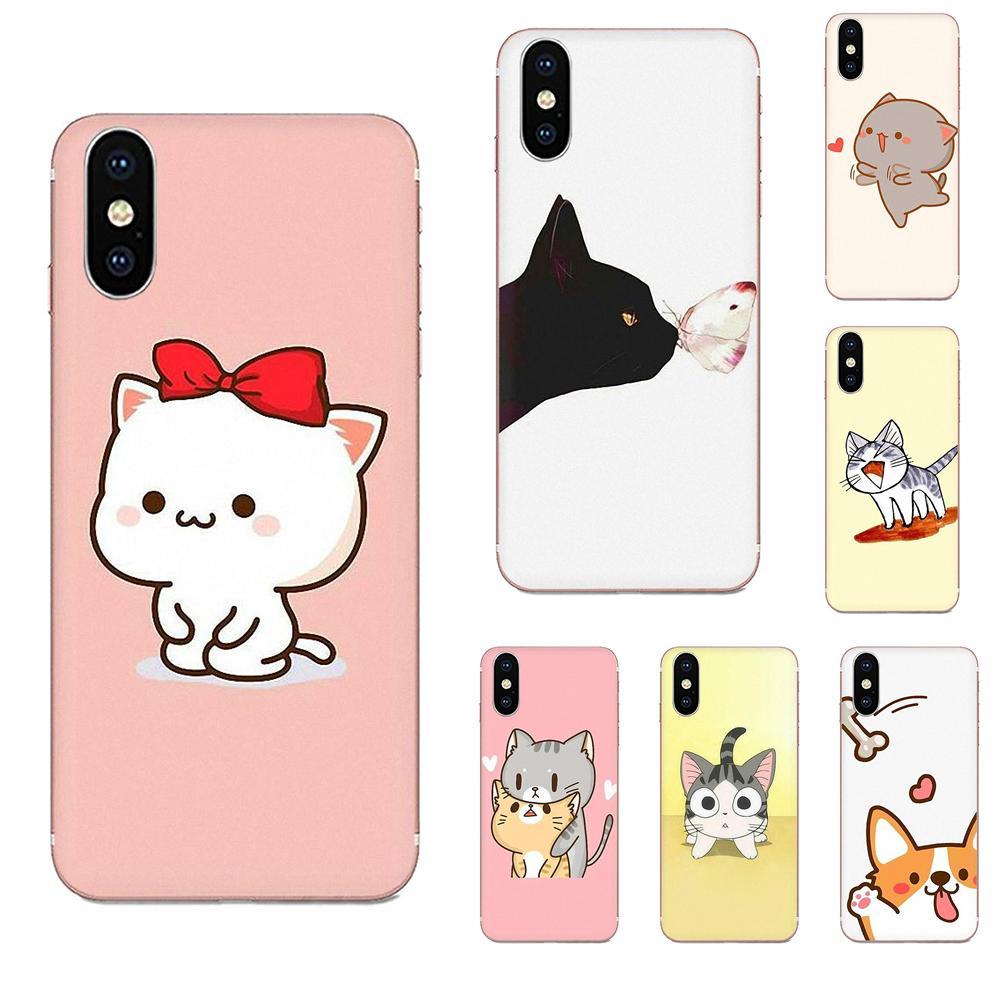 Kawaii Molang Anime Dog Cartoon Cat For LG G2 G3 G4 G5 G6 G7 K4 K7 K8 K10 K12 K40 Mini Plus Stylus ThinQ 2016 2017 2018