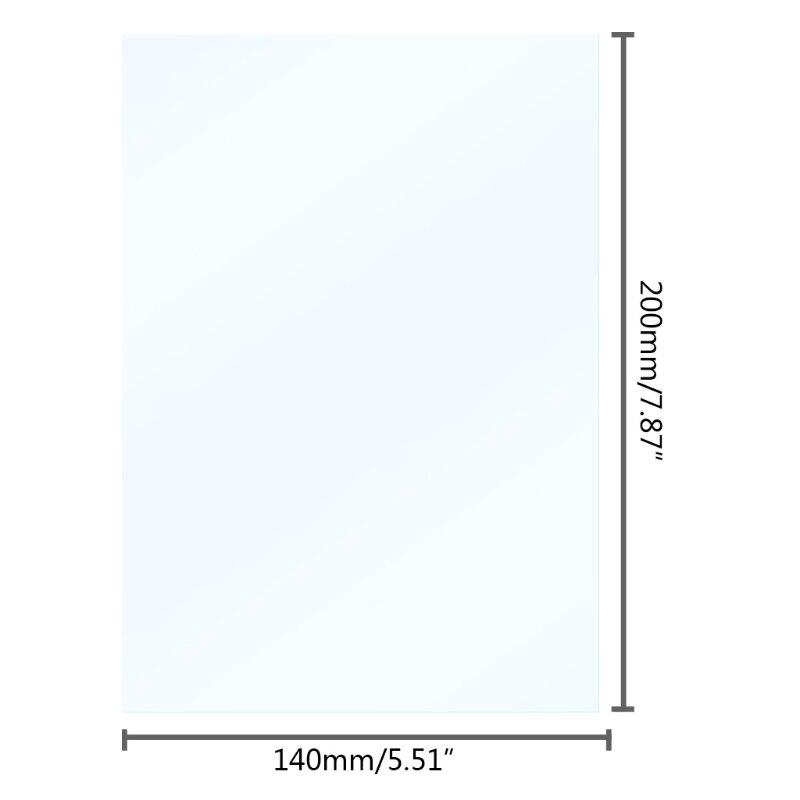5pcs/set Light-curing Printer Release Film 0.1mm FEP Film for DLP 3D Printer K3KE