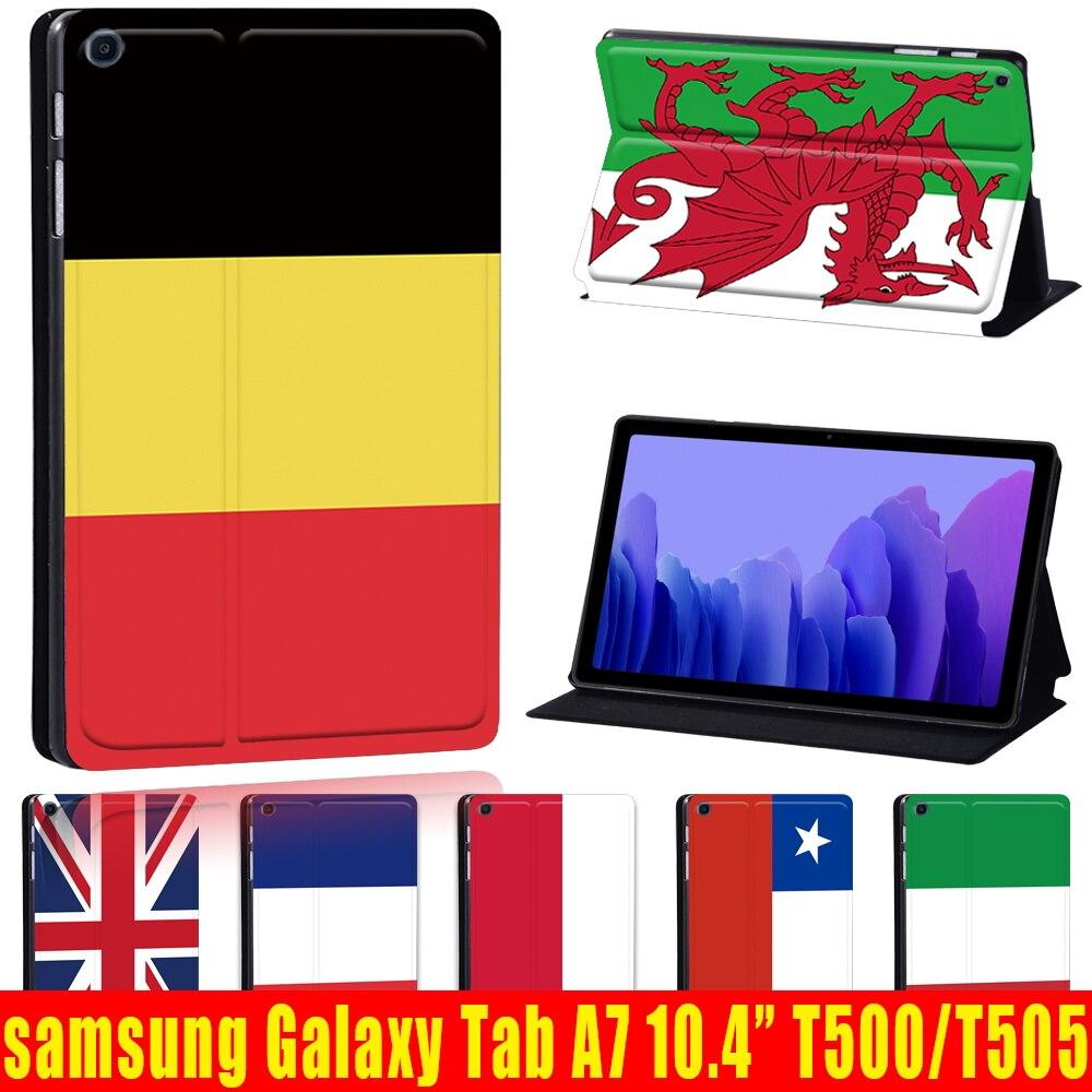 Для планшета Samsung Galaxy Tab A7 10,4 дюймов 2020 из искусственной кожи (полиуретан) SM-T500 T505 T507 крышка чехол Funda для Samsung Galaxy Tab A 7 чехол для samsung galaxy tab a7 2020 чехол для планшета из искусственной кожи для samsung galaxy tab a7 sm t500 t505 t507 10 4 дюймов