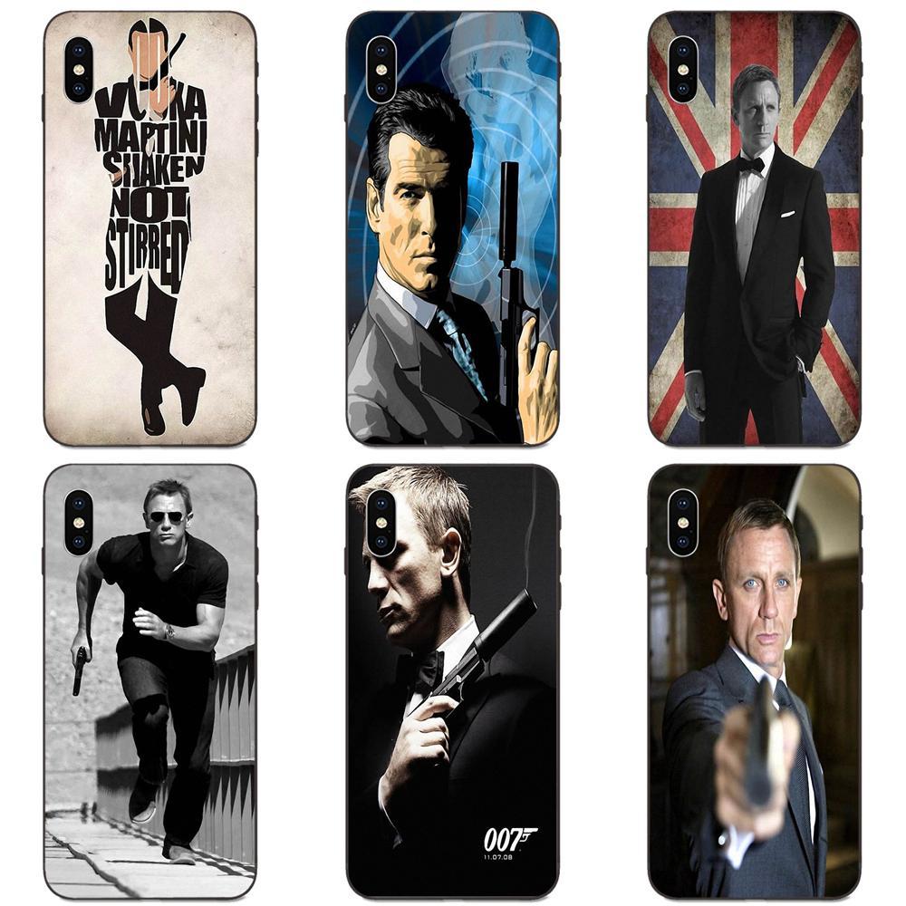 For Apple iPhone 11 X XS Max XR Pro Max 4 4S 5 5S SE 6 6S 7 8 Plus Soft Cell Phone Cover Case Casino Royale 007 James Bond