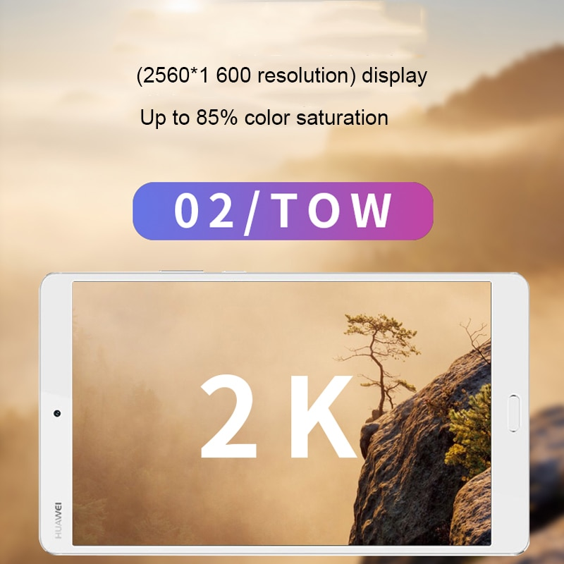 No box Global firmware Huawei M3 Tablet PC 8.4-inch 2K HD Screen Call Mobile Phone Android Game Console Online Class Tablet PC