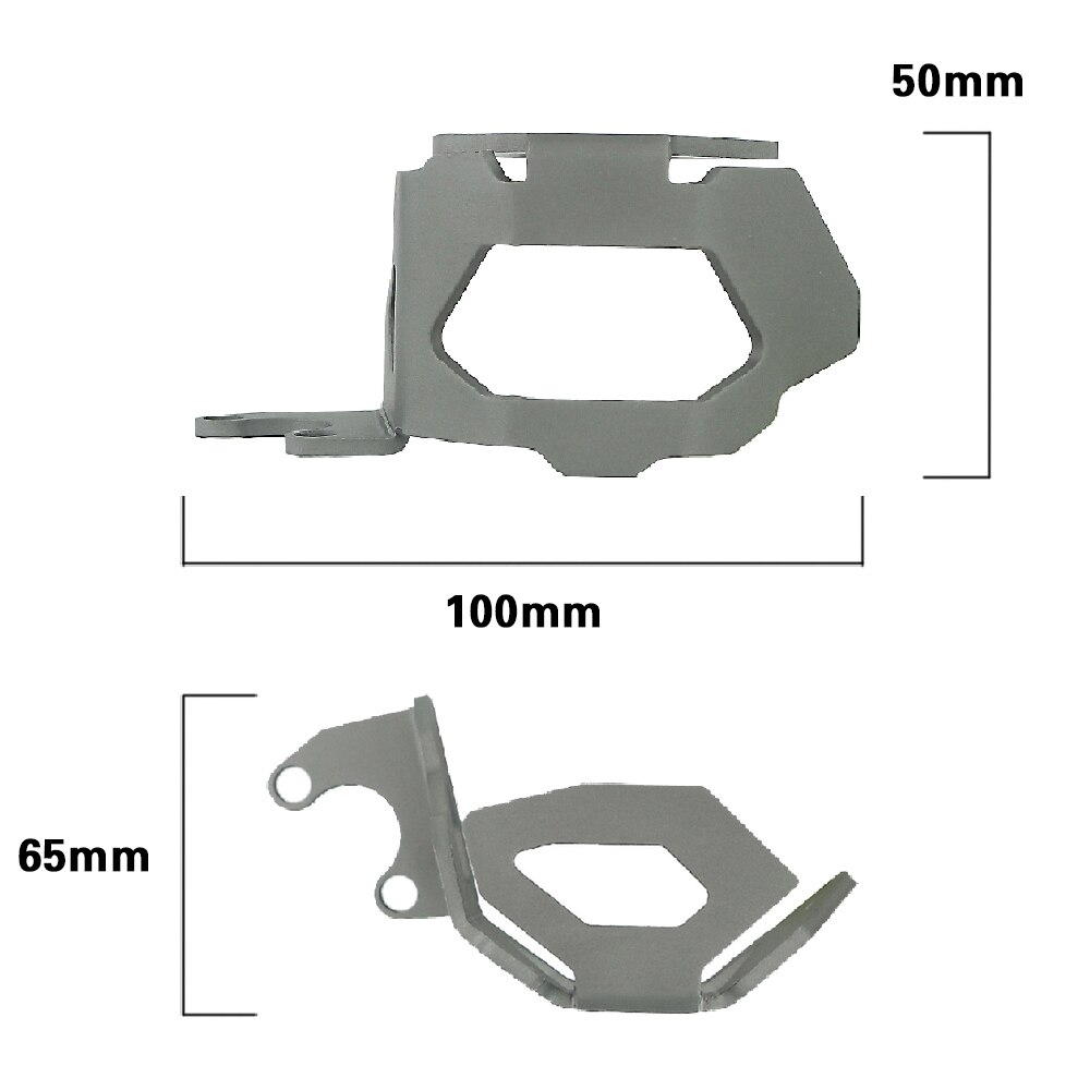 For BMW F800GS F800 F 800 GS 04-17 Motorcycle Front Brake Oil Cup Guard Cover CNC Aluminum Fluid Reservoir Protection 2004-2017