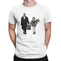 leon the professional t shirts mens cotton amazing t shirt round neck love jean reno tee shirt short sleeve tops new arrival