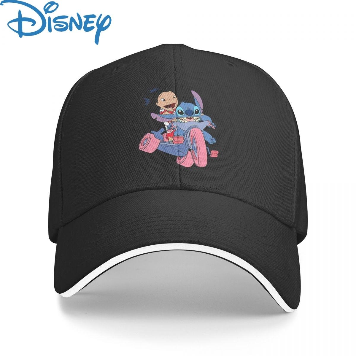 Disney Stitch Lilo (8) Baseball Cap Men Women Hip Hop Dad Sun Hat Trucker Hat