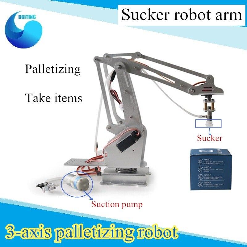 3 DOF Palletizing Роботизированная рука 3-осев