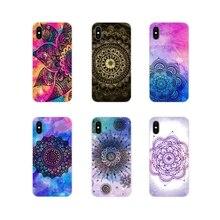 For Xiaomi Mi4 Mi5 Mi5S Mi6 Mi A1 A2 A3 5X 6X 8 CC 9 T Lite SE Pro Mandala Flower DIY Printing Drawing Mobile Phone Shell Covers