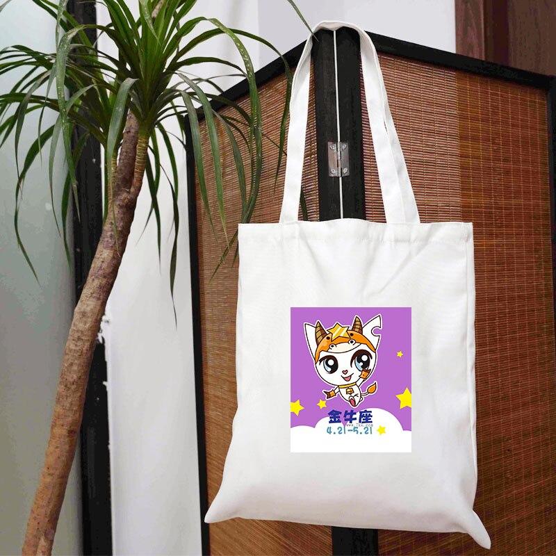 Сумка созвездие, женские настраиваемые тканевые дизайнерские сумки через плечо с логотипом, женские сумки для покупок для продуктов, много...