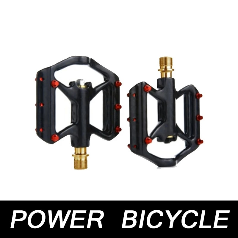 Rrskit Carbon Brazed Bicycle Pedals Road Vehicles  Carbon Brazing Ultra-lightweight Pedal Titanium Alloy Three Bearings