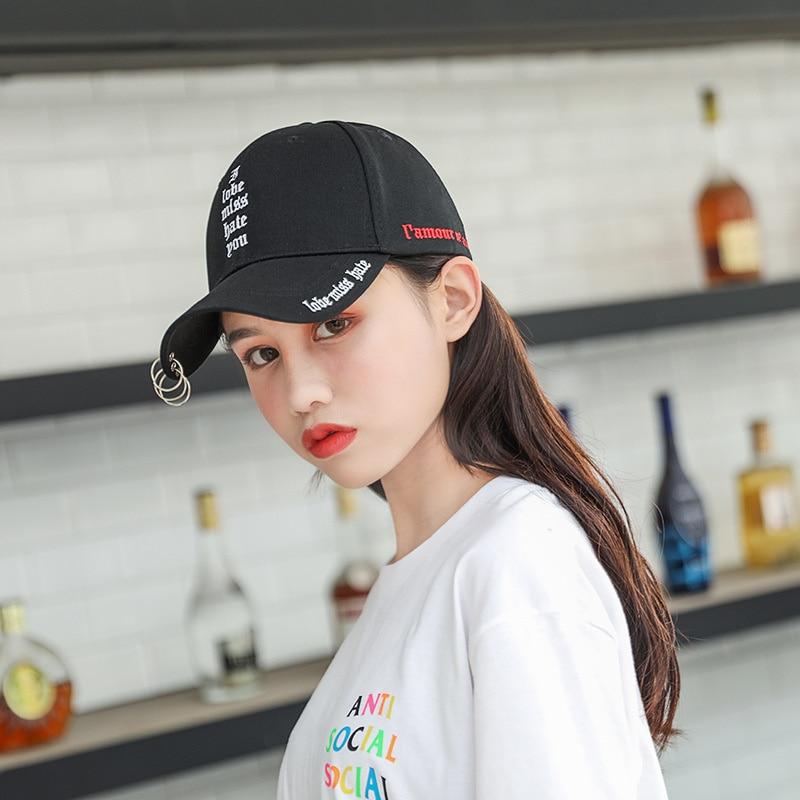 Новинка 2021, женские креативные кепки с пряжкой и надписью, модные мужские уличные повседневные кепки, бейсболки с изогнутыми полями