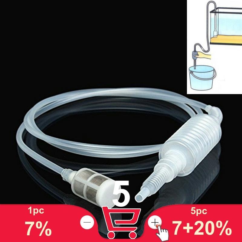 Ручной насос, инструмент для очистки воды, сифон, фильтр, насос для очистки аквариума