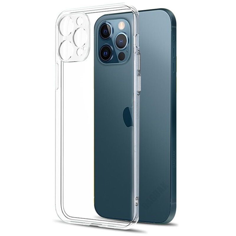 Ultra Thin Clear Phone Case For iPhone 11 7 Case Silicone Soft Back Cover For iPhone 11 12 Pro XS Ma