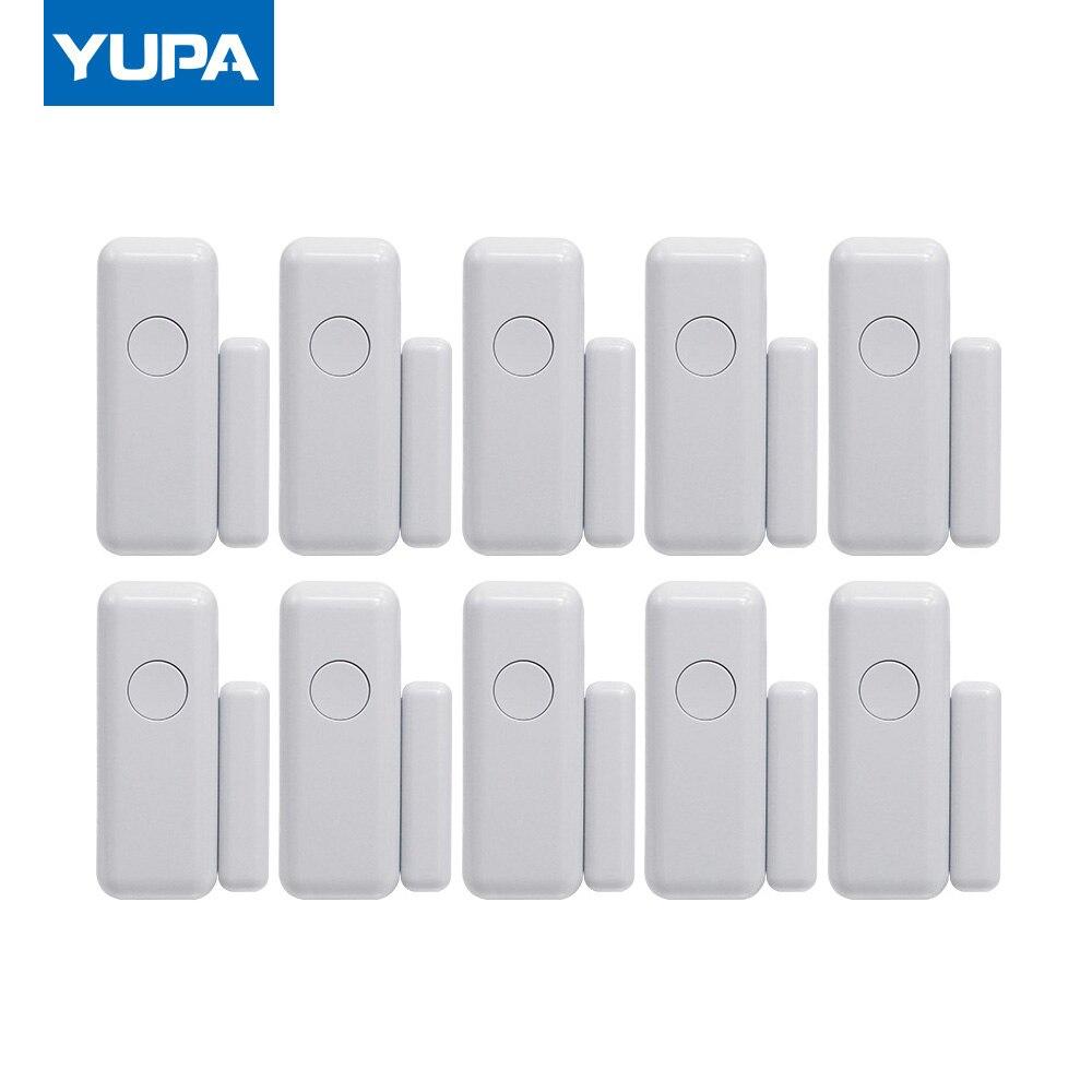kerui 433mhz wireless door window sensor open detector gsm pstn home alarm system home security voice burglar smart alarm system YUPA 433mhz  Wireless Window Door Magnet Alarm Sensor Door Detector For Smart Home Security System