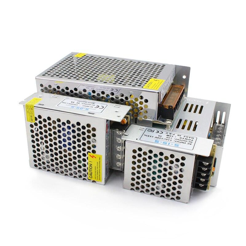 Fuente de alimentación conmutada AC DC 3V 9V 15V18V 2A 3A 5A 10A 15A 20A 30A 40A 3V 9V 15V 18V fuente de alimentación MeanWell SMPS