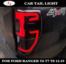 FOR RORD RANGER T6 T7 T8 TXL 2012-2019 EXTERIOR REAR LED TAIL LIGHTS LAMPS REAR BRAKE LIGHTS REVERSE TURN SIGNAL LIGHTS CAR
