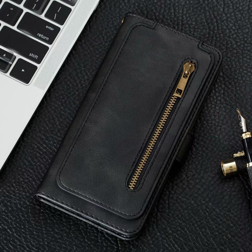 Flip Leather Wallet Case Voor Samsung A91 M80 S10Lite A81 M60 M40 S A71 A51 A70 S A8 A5 A530 a7 A750 2018 Telefoon Puleather Cover