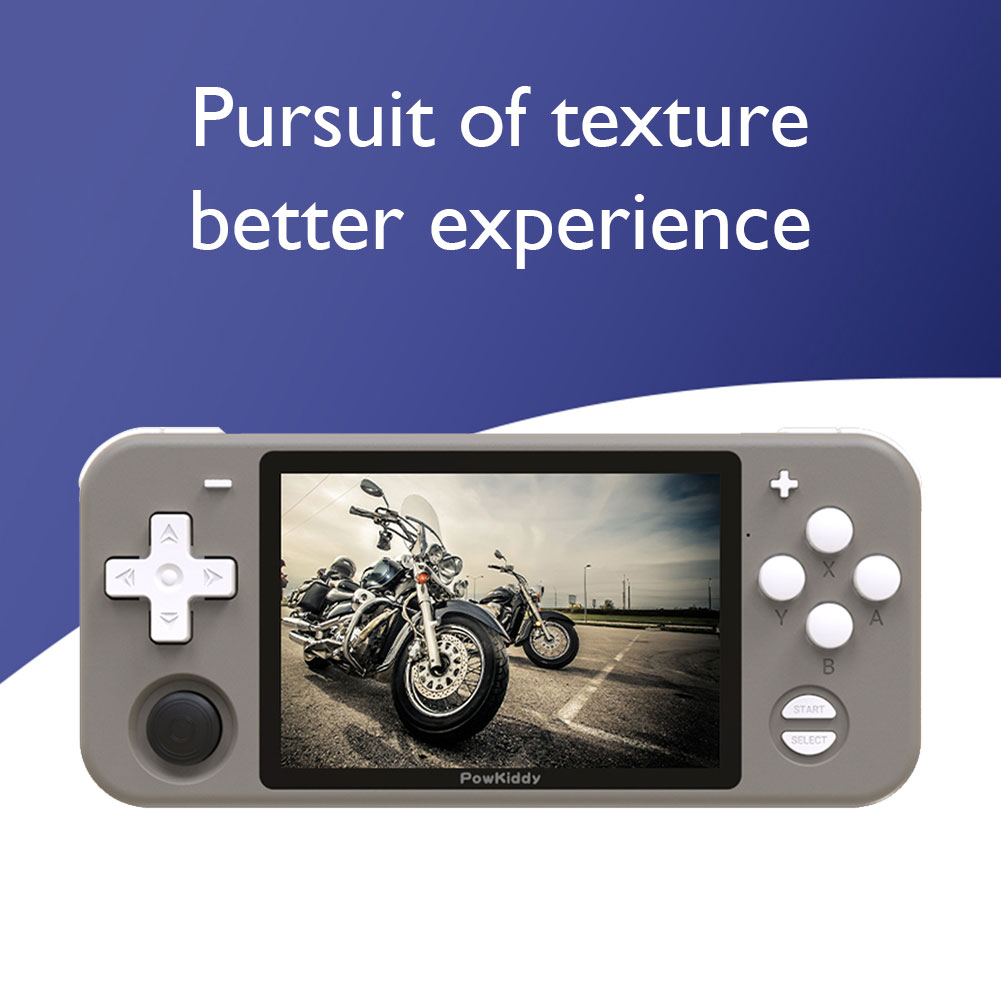 POWKIDDY RGB10 Retro Handheld Game Console with/ 3.5 inch IPS Screen Kids 32GB(3000 ) 64GB (10000+)128GB (14000+) enlarge