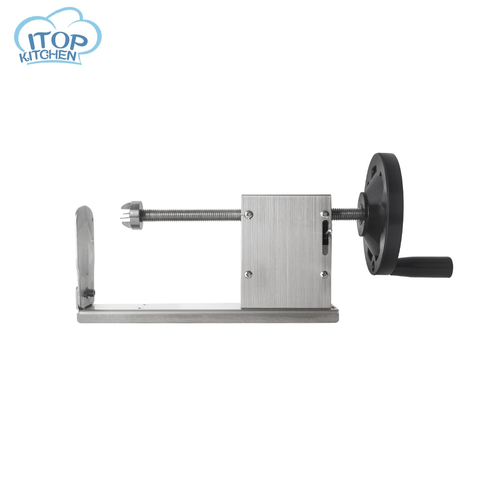 GZZT Manual Spiral  Vegetable Food Processor Potato Tower Machine Potato Slicer With 3 Different Blades