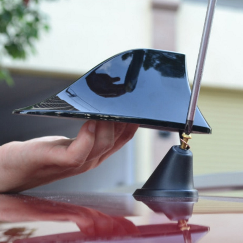 Antena Tipo aleta de tiburón de coche Auto Radio antenas para Fiat 500 600 Tipo Punto stilo Freemont Cruz Coroma Panda, Idea Palio