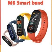 M6 Men Women Smart Watches Smart Band Sport Fitness Tracker Pedometer Wristband Heart Rate Blood Pre
