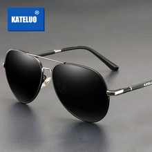 KATELUO 2020 Classic Mens Sunglasses Polarized UV400 Lens Male Sun Glasses Military Quality Driving