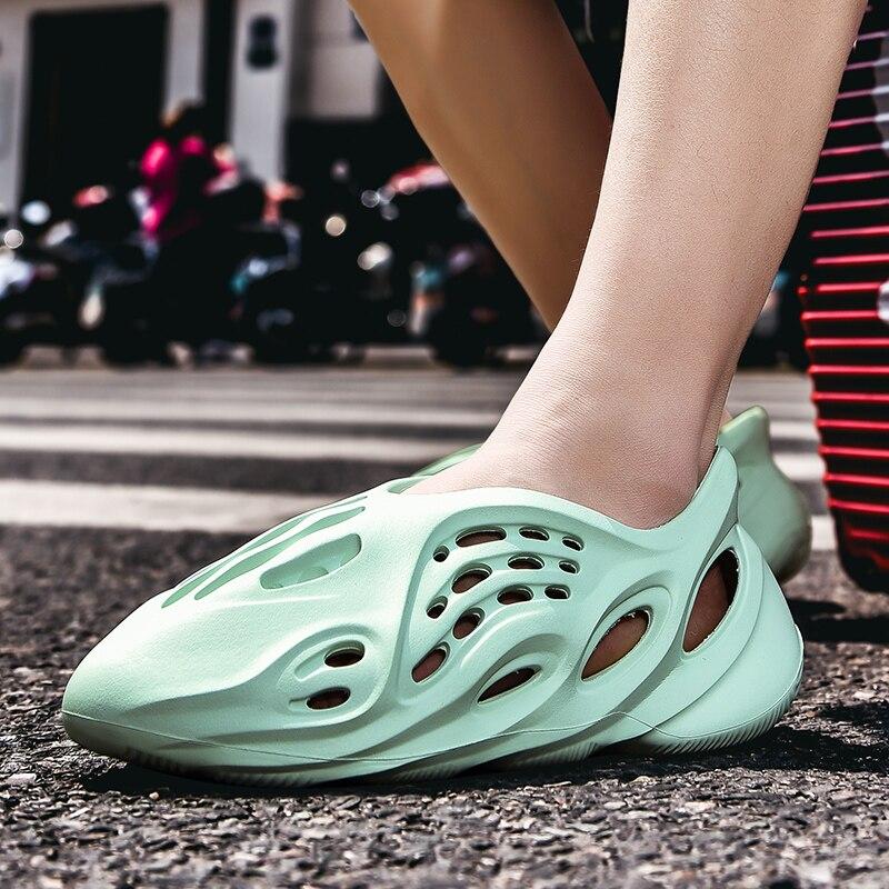 Zapatos Coslony para hombre, zapatos Kanye West para hombre, moda de pareja para mujer, zapatillas de verano informales para hombre, zapatillas de playa, sandalias para hombre