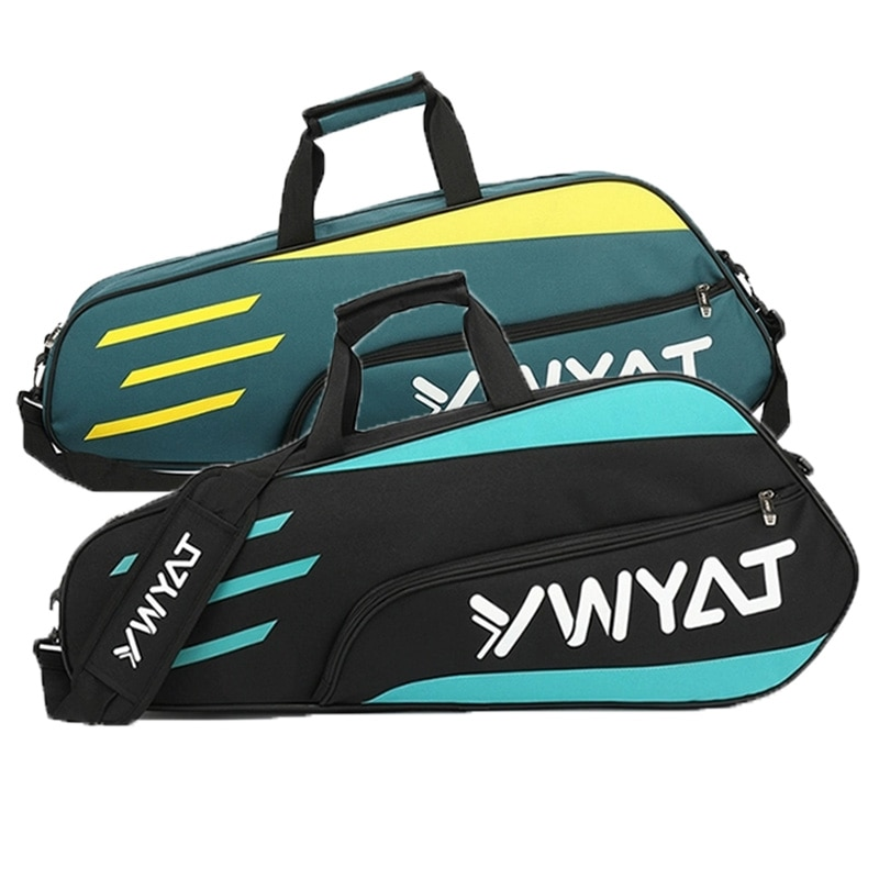 Badminton Bag Outdoor Sports Training Fitness Racket Bags Men Women Large Capacity Nylon Waterproof Badminton Racquet Backpack