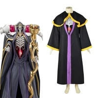 anime overlord ainz ooal gown cosplay costume deadth grim reaper cosplay costume halloween suit l321