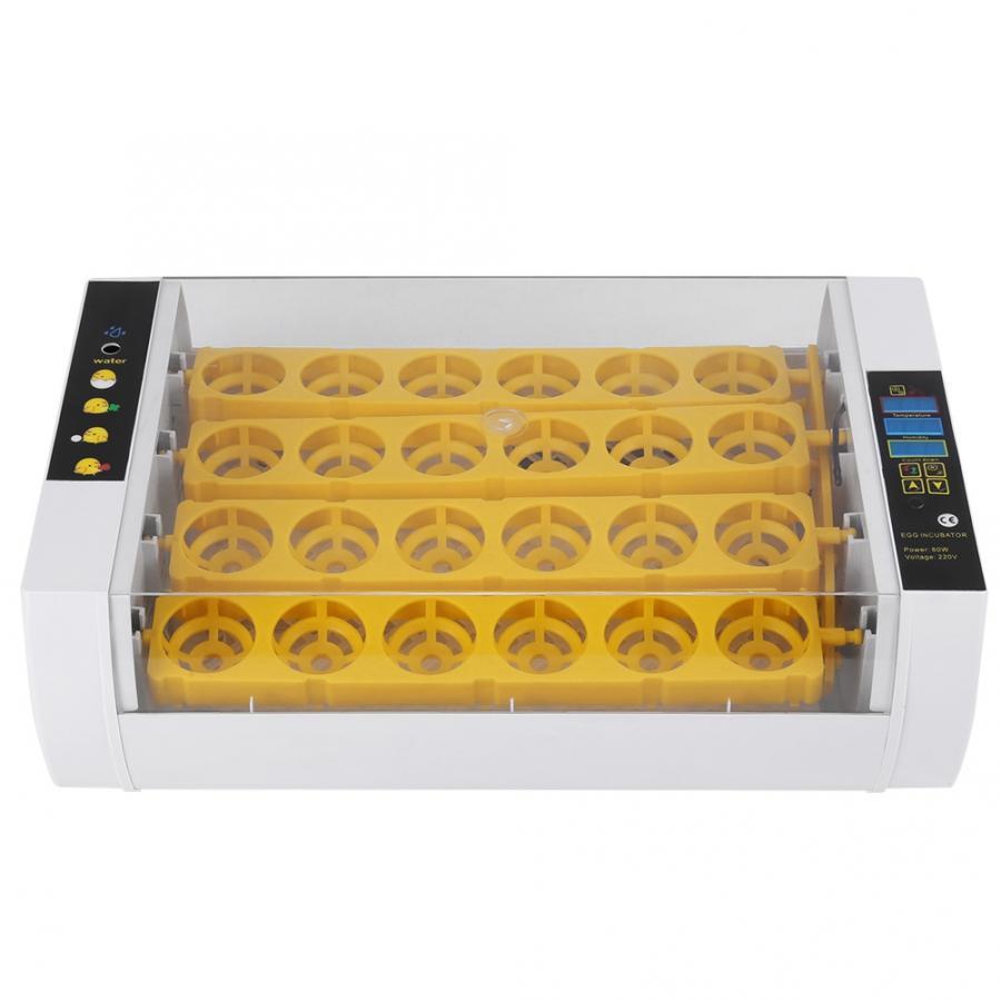 Incubadoras huevos gallina 24, incubadora de huevos, Control de temperatura, Digital, automático, gallina y pollos, incubadora de patos