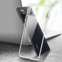 Прозрачный чехол для телефона Xiaomi Mi 11 11X Pro Ultra Lite 11i, мягкий прозрачный защитный чехол из ТПУ для мобильного телефона Mi11Pro