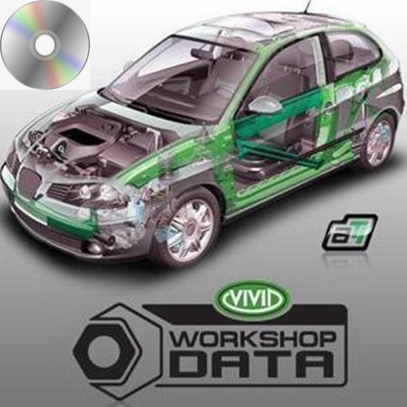Software Vivid Workshop Data V10.2 Automotive auto repair software 2010 Vivid Workshop data ATI with English free shipping недорого