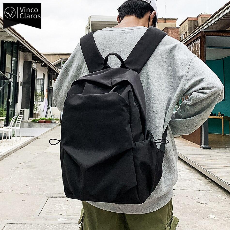 Водонепроницаемый нейлоновый дорожный рюкзак для мужчин, городской рюкзак для ноутбука 15,6 дюйма, модный легкий школьный ранец для подростков