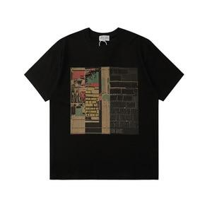 20ss Cavempt t shirt EU size 100% cotton 1:1 high quality CAVEMPT top Tee kanye west couples hip hop CAVEMPT t shirt men women