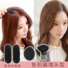 Breathable Mat Hair Top Fluffy Hair Tool Head Flat Falling Head Hidden Sponge Sofa Cushion Bangs Cli