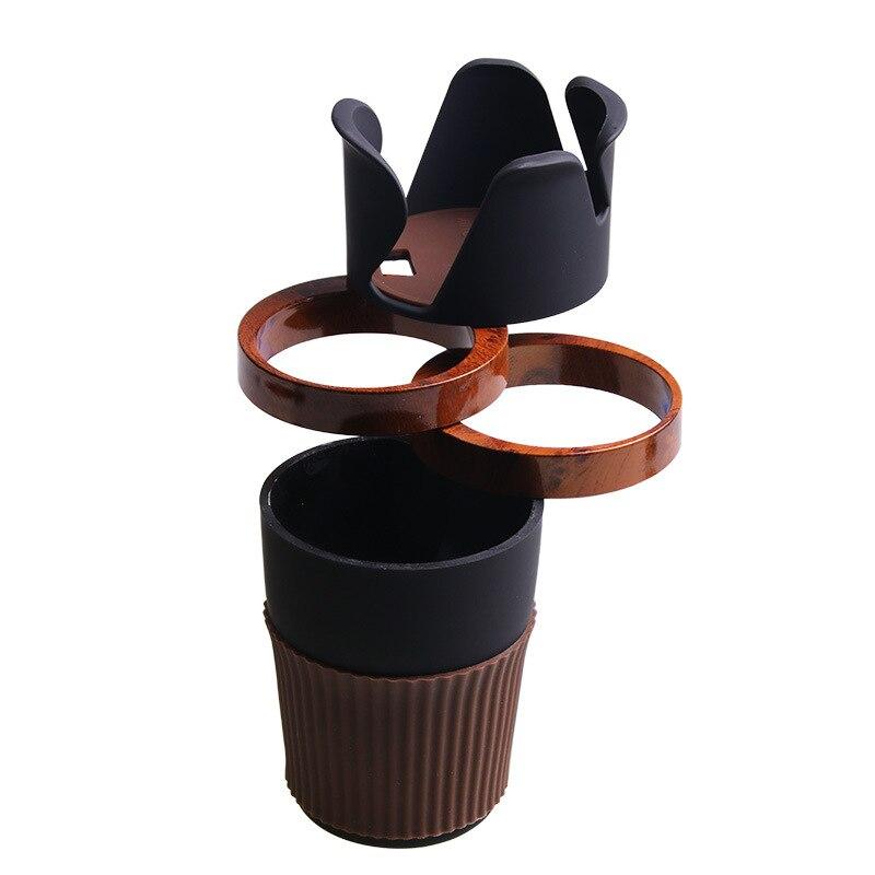 Soporte para taza mágica multifuncional soporte para vaso de agua para coche soporte para bebida montado a bordo soporte para teléfono R151-4