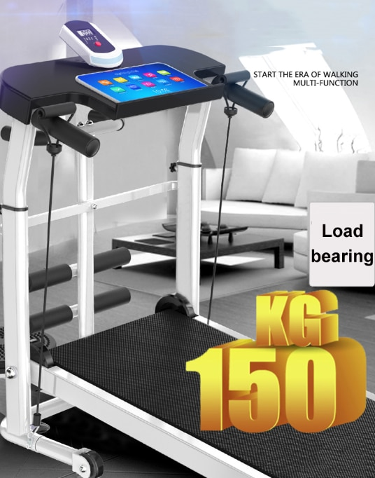 Free shipping Poland Stock GXLO Design  foldable Multifunctional silent treadmill with LED dashboard  treadmill treadmill