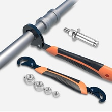 Nouveau 9-32/9-45MM clés universelles multi-fonction réglable Portable couple cliquet filtre à huile réparation tuyau clé outils à main