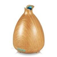 130ml humidificateur dair diffuseur dhuile essentielle arome lampe aromatherapie electrique arome diffuseur brumisateur pour la maison-bois