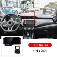 2021 new 360 degree rotation gravity car phone holder car bracket air vent stand car smart bracket for nissan kicks 2017 2021