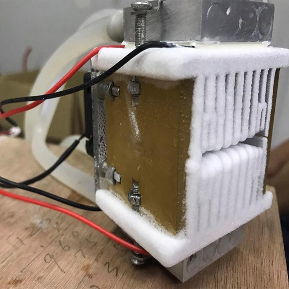 1 unidad Diy 120w Tec Peltier Semiconductor refrigerador refrigeración por agua mecanismo de aire acondicionado para refrigeración y ventilador