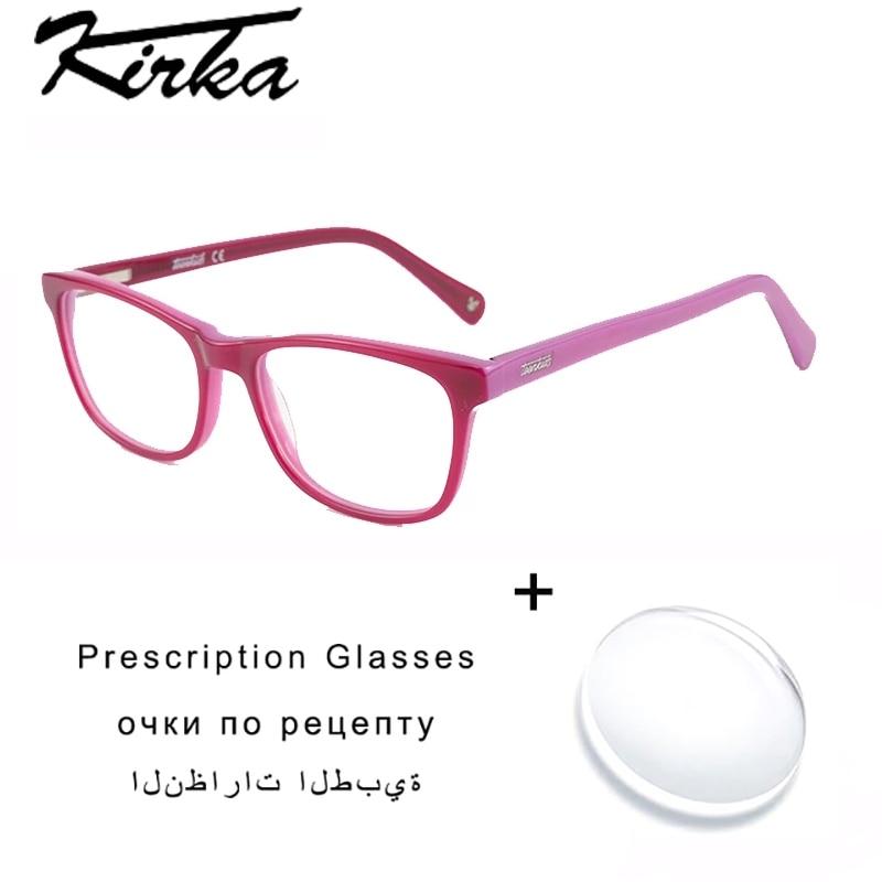 Prescription Eyeglasses Myopia/Reading Kids Eyeglasses TK4003 Acetate Children Eyeglasses with Lense
