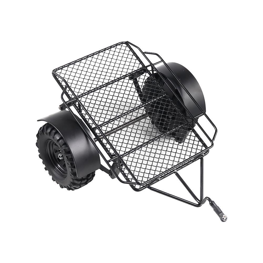 RCtown 1/10 Metall Hitch Mount Anhänger 220*205mm für RC Crawler Axial SCX10 90046 Traxxas TRX4 D90 Tamiya CC01