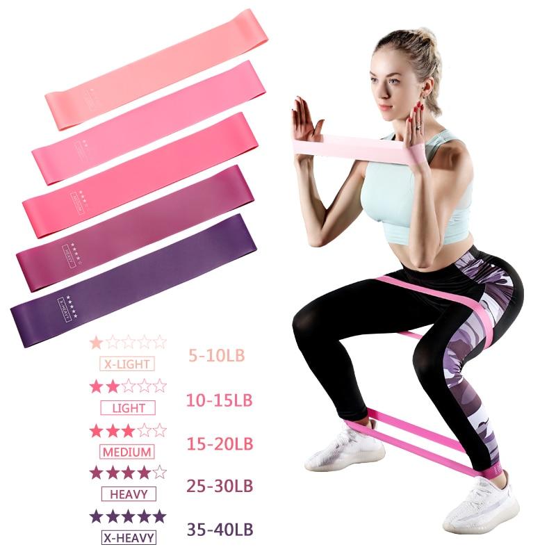 Эспандер, резиновая лента для йоги, растяжки, фитнес-тренировок