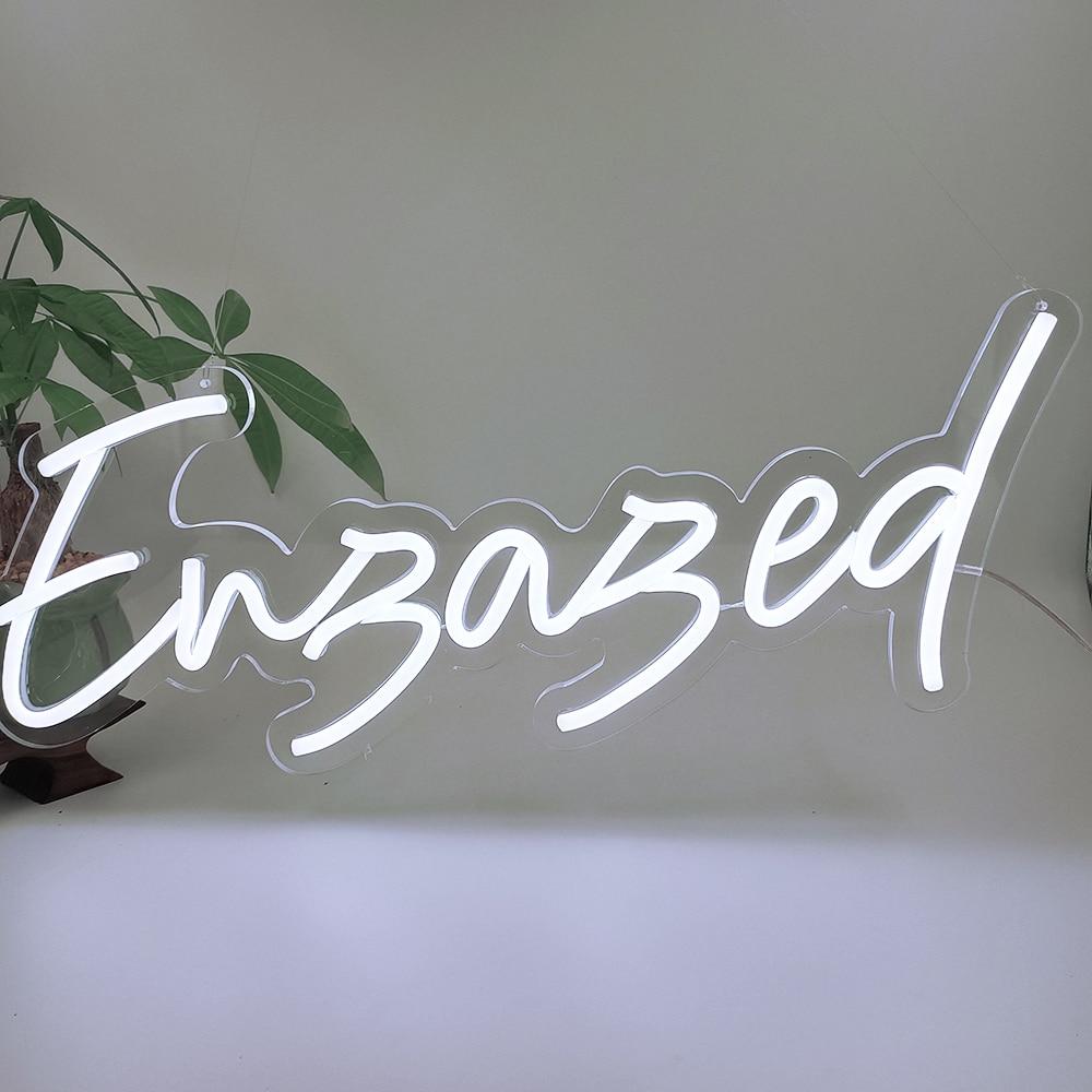 Custom Engaged Led Neon Light Sign 56x23cm Wedding Decoration Bedroom Home Wall Decor Marriage Party Decorative Illuminated