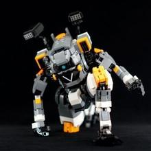 Kids 740Pcs STEM MOC USC Level Emperor BT-7274 Mecha Bricks DIY Small Particle Building Blocks Educational Toy Gift Set
