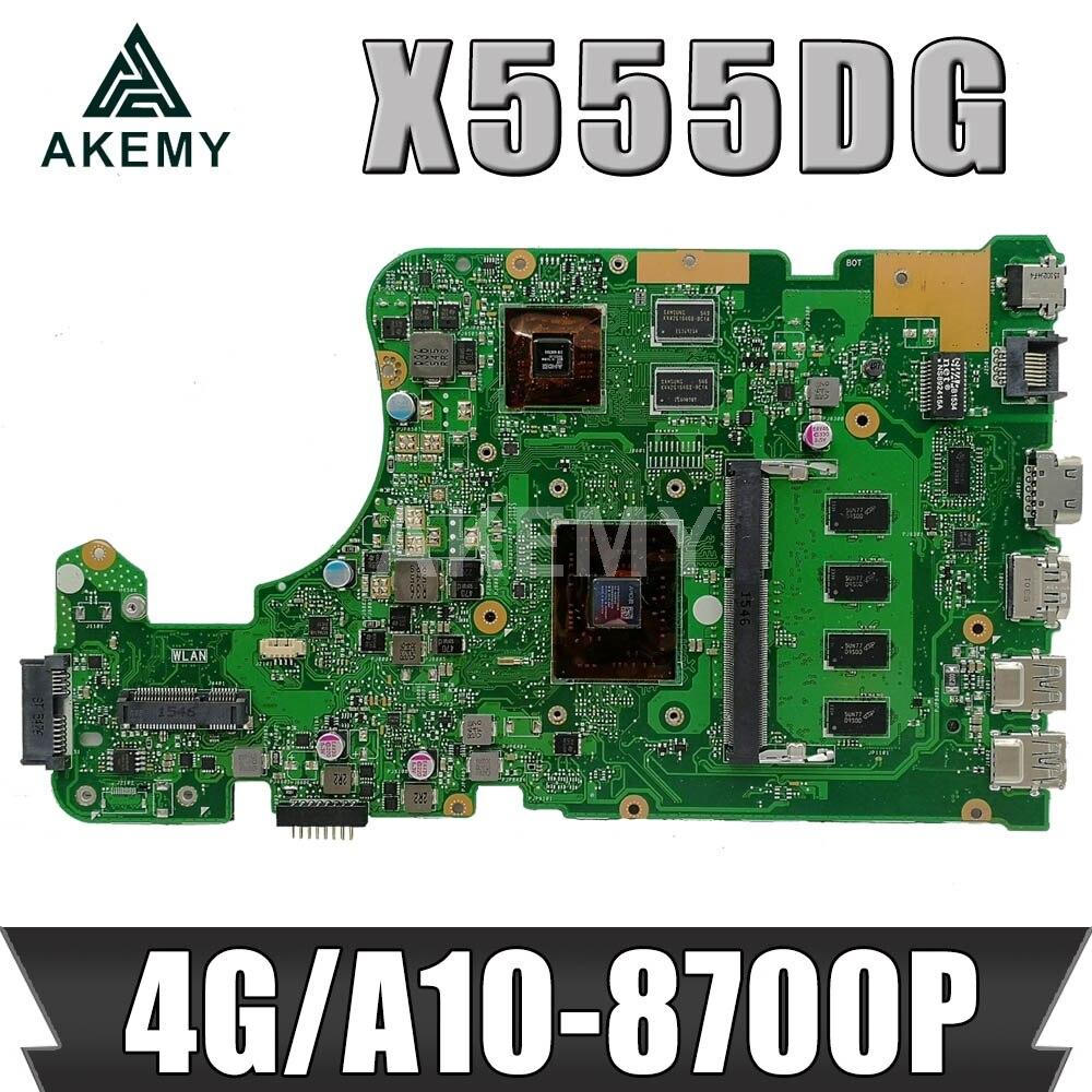 X555DG 4G / A10-8700P (V2G) للوحة الأم Asus X555DG X555D X555Y X555YI F555Y K555Y K555D A555D Mianboard