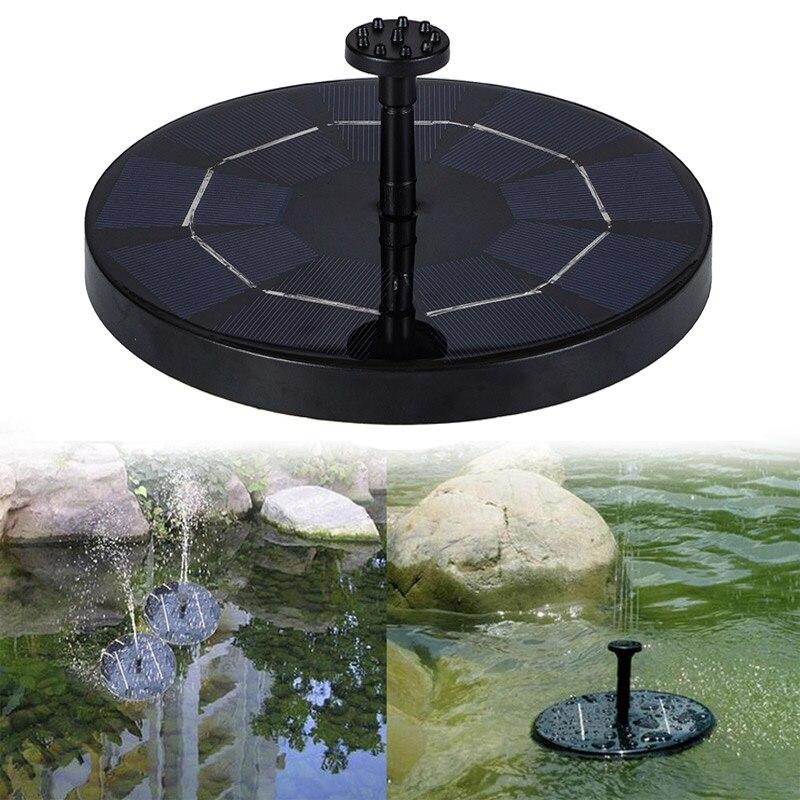 Солнечный фонтан, Плавающий сад, фонтан, бассейн, пруд, украшение, солнечный фонтан, водяной насос, Прямая поставка