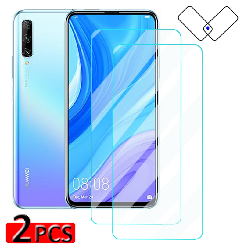 2 pcs Y9s Protective Glass for Huawei Y9S Y9 Prime 2019 Y 9 2018 Screen Protector On Huaway Y 9S S Y9prime 2019 9H Tempered Film