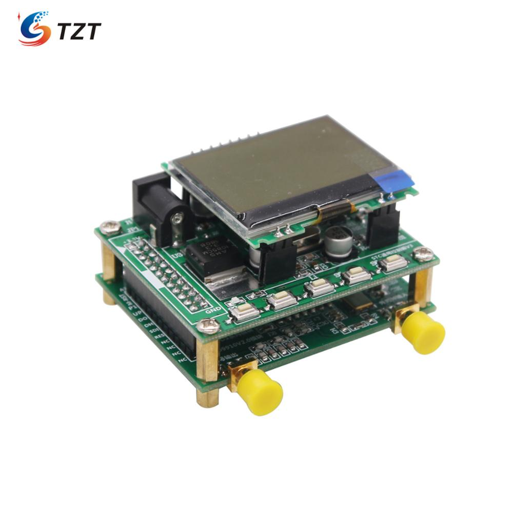 Kit generador de señal TZT DDS (placa AD9910 + placa controladora MCU + pantalla LCD + amplificador RF)