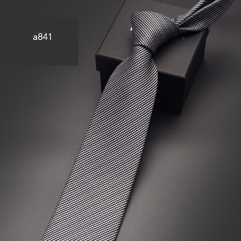 2020 High Quality Brand New Fashion Formal Suit Business Paisley 8cm Necktie Gentleman Wedding Tie for Man Ties with Gift Box